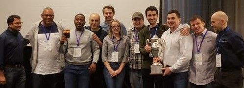 Winning 2019 Hackathon Team