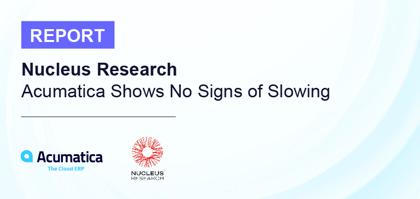 Nucleus Research Report