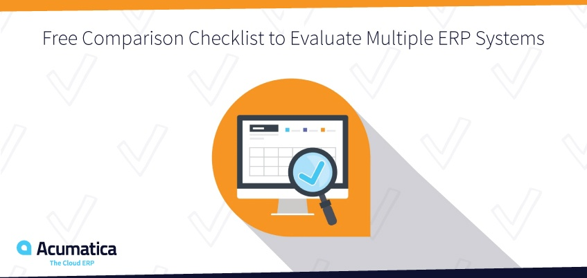 Free ERP Comparison Checklist